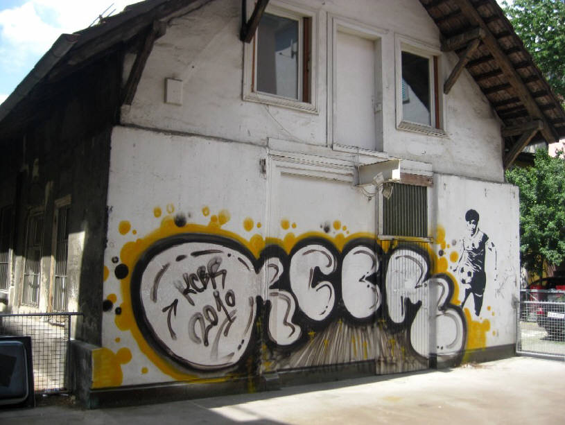 KCBR GRAFFITI CREW Z�RICH SWITZERLAND
